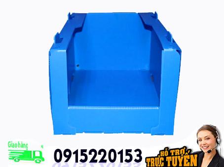Hộp nhựa danpla đa chức năng chống UV ESD totes