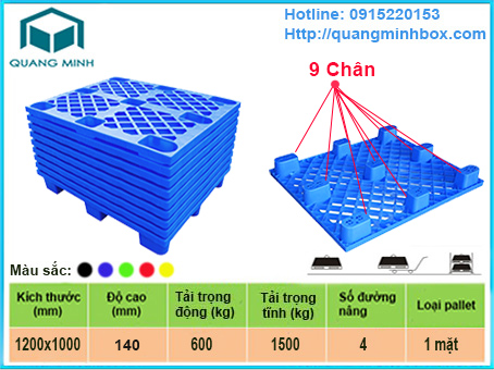 pallet-nhua-9-chan---pallet-coc-gia-re-chat-luong-dung-xuat-nhap-khau
