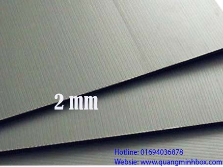 Tấm nhựa danpla ESD 2mm
