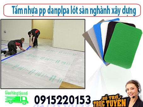 tấm lót sàn bảo vệ sàn